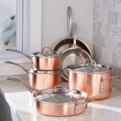 Set oale inox-cupru 5 piese Copperware