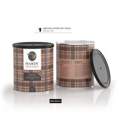 Cafea premium mocha 0,25kg Europa Blend, Hardy Caffe