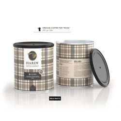 Cafea premium mocha 0,25kg Milano Blend, Hardy Caffe