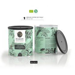 Cafea premium mocha 0,25kg Zanzibar Organic, Hardy Caffe