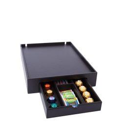 Tava+cutie pt capsule cafea