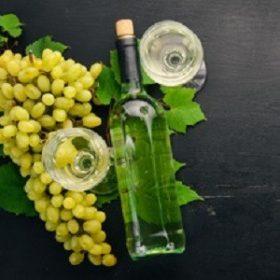 Pahar vin alb